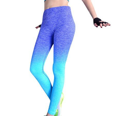 High Elastic Women Yoga Pants Compression Tights Fitness Women Night Running Sportwear Trousers Gym Dry Quick Sport Leggings