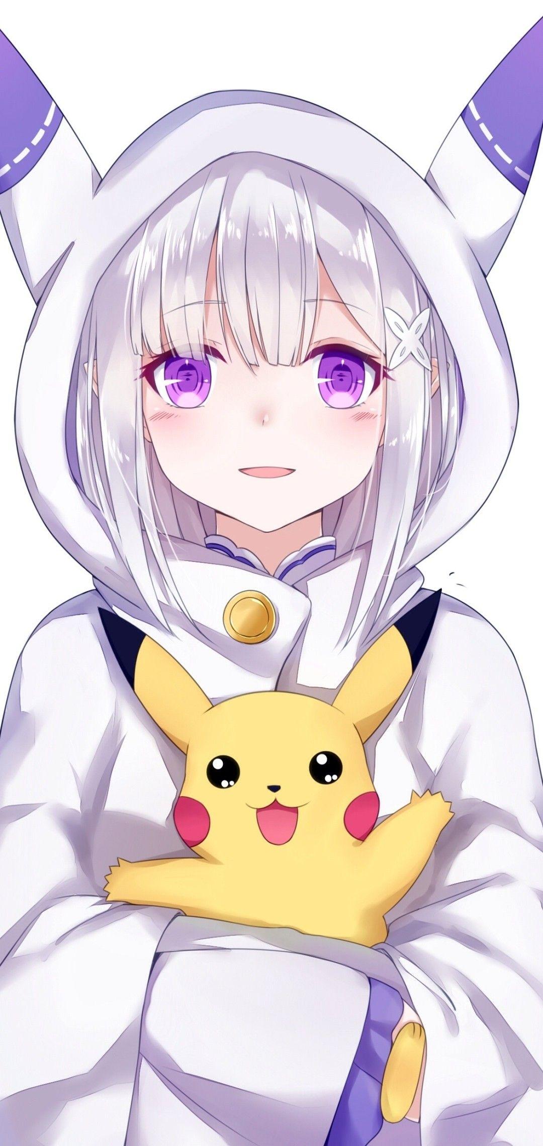 pikachu Menina anime, Personagens de anime, Arte anime