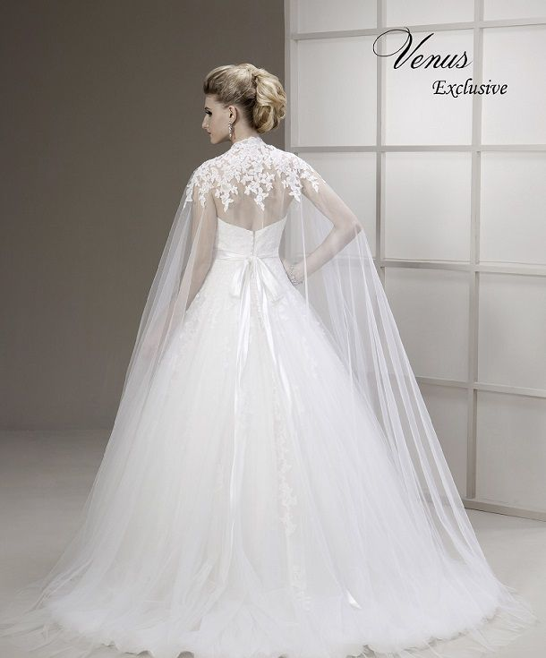 A Fairytale Wedding Gown Complete With Snow White Inspired Cape Veil Now Ready To