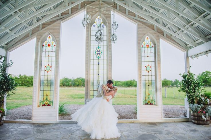 Open Air Wedding Venue The Gruene Estates New Braunfels Texas