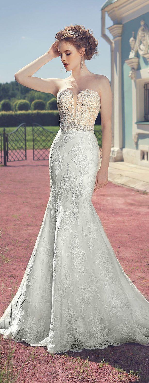 Vestido de novia sencillo pero bonito