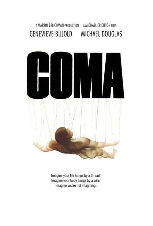 Image result for coma movie poster