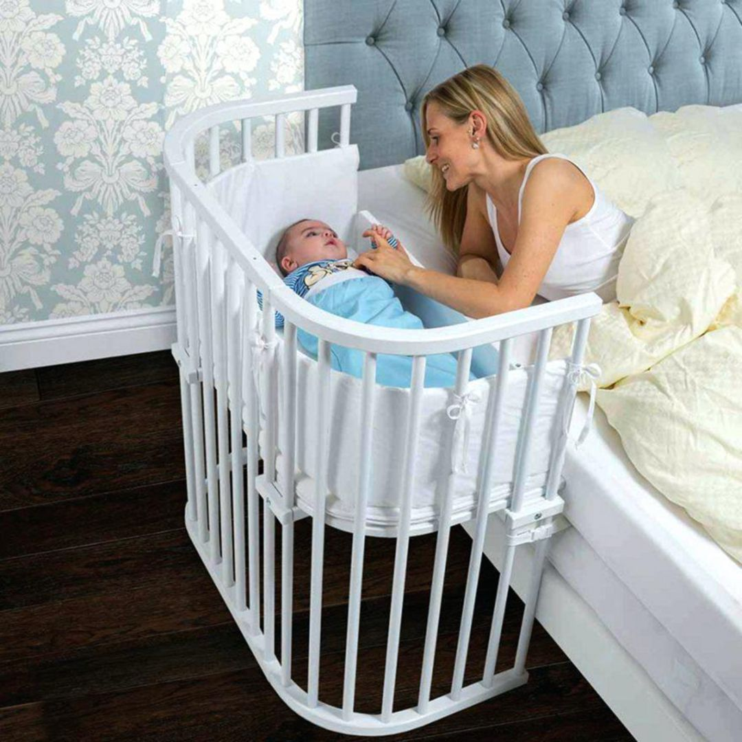 Crib on the Side of the parents' Bed in 2020 (With images