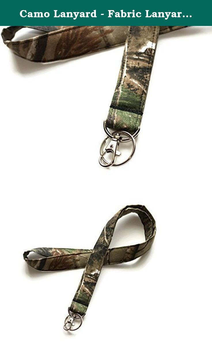 Camo Lanyard - Fabric Lanyard - Made to lay flat - Mens and Womens key  Lanyard 4cc5cc814