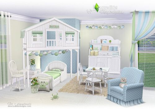 Sims 4 Toddler Bedroom Cc