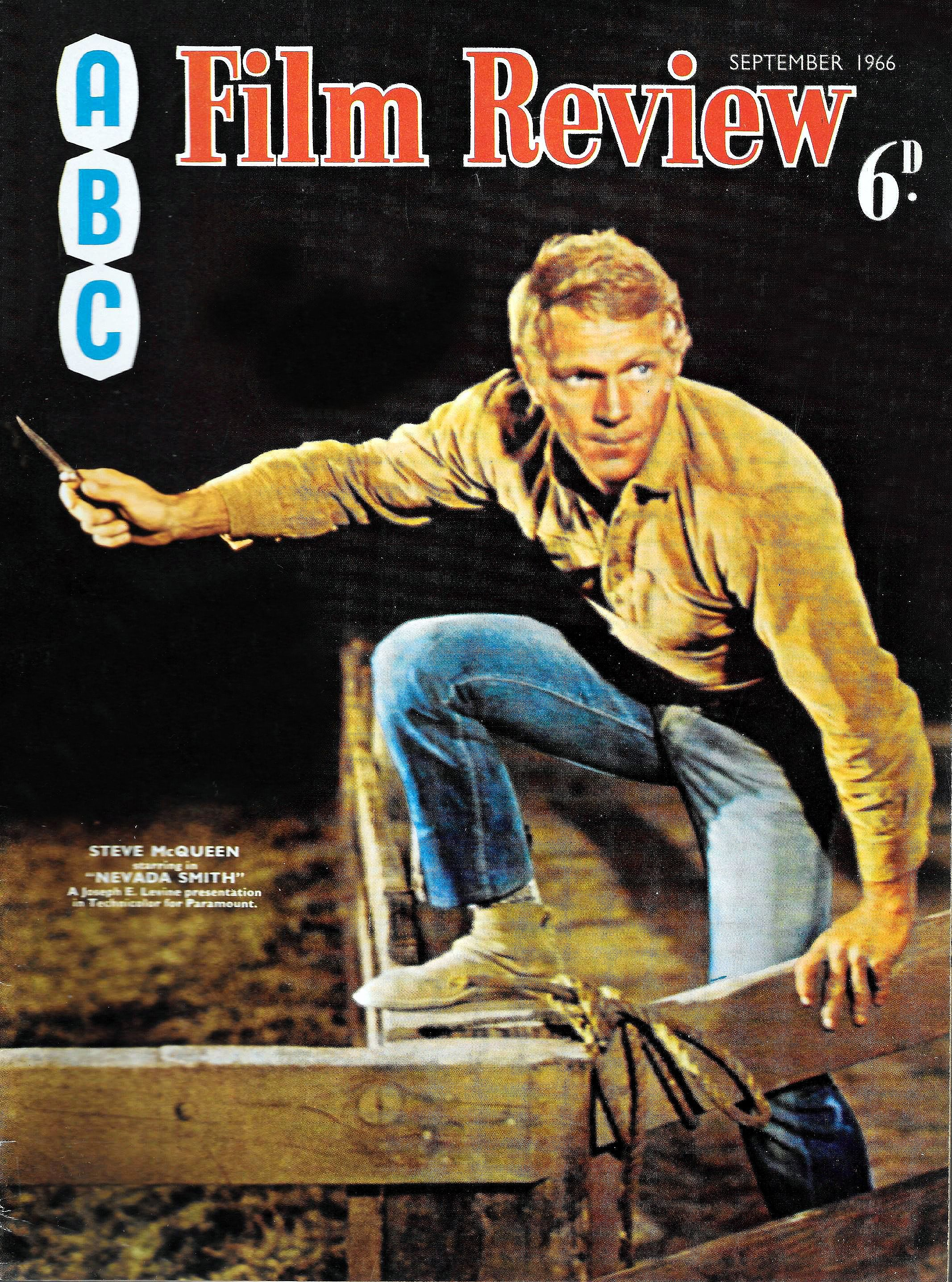 vintage movie magazines VINTAGE 'ABC' FILM REVIEW