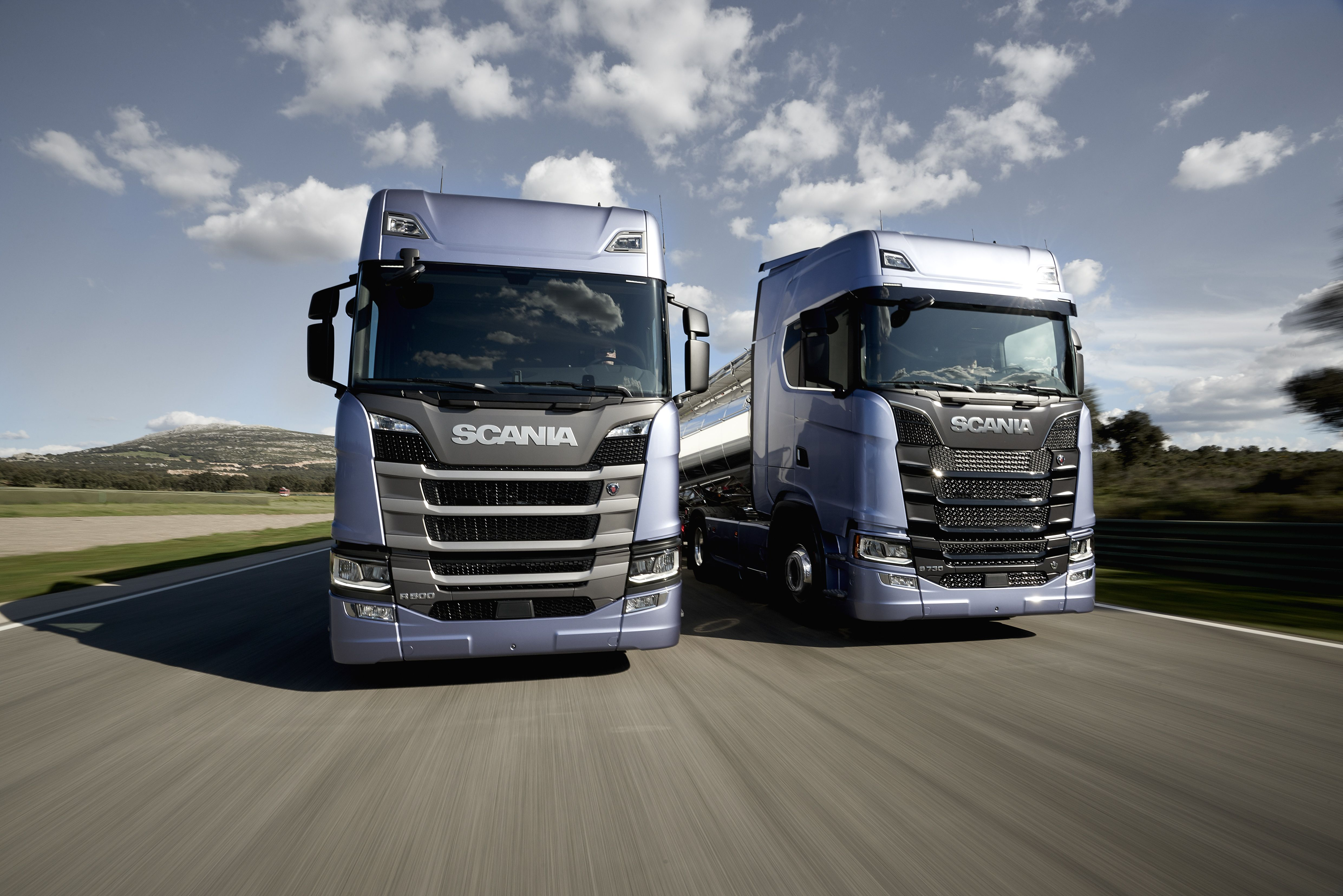 Scania is introducing a new truck range the result of ten years of development