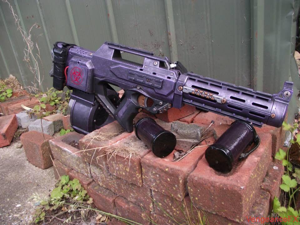 Cool custom nerf gun.