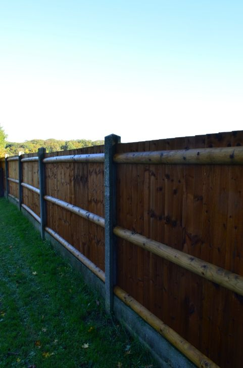 75 Fence Designs Styles Patterns Tops Materials And Ideas Fence Design Wood Fence Post Backyard