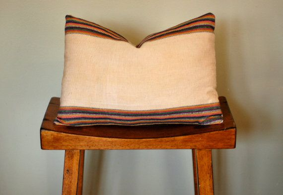 Vintage Woven Pillow Cover