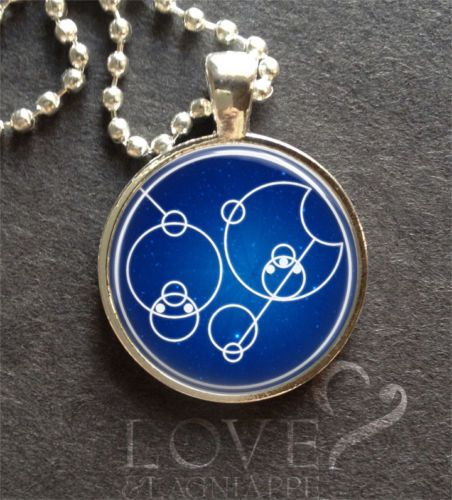 "QUOTES-in-Gallifreyan-Doctor-Who-Pendant-Jewelry-Necklace-Timelord ""I love you"""