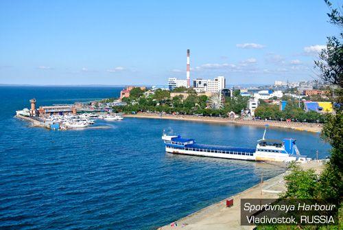 Sportivnaya Harbour - Vladivostok, Russia