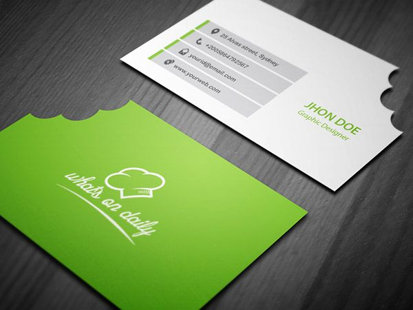 30 Examples Of Creative Chef Business Card For Inspiration Restaurant Business Cards Business Card Design Business Card Inspiration