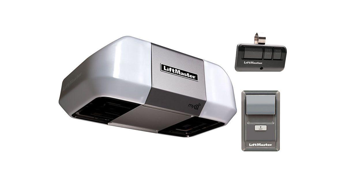 Liftmaster 8355 Premium Series Garage Door Opener Reviews 2020 Liftmaster Liftmaster Garage Door Opener Door Repair