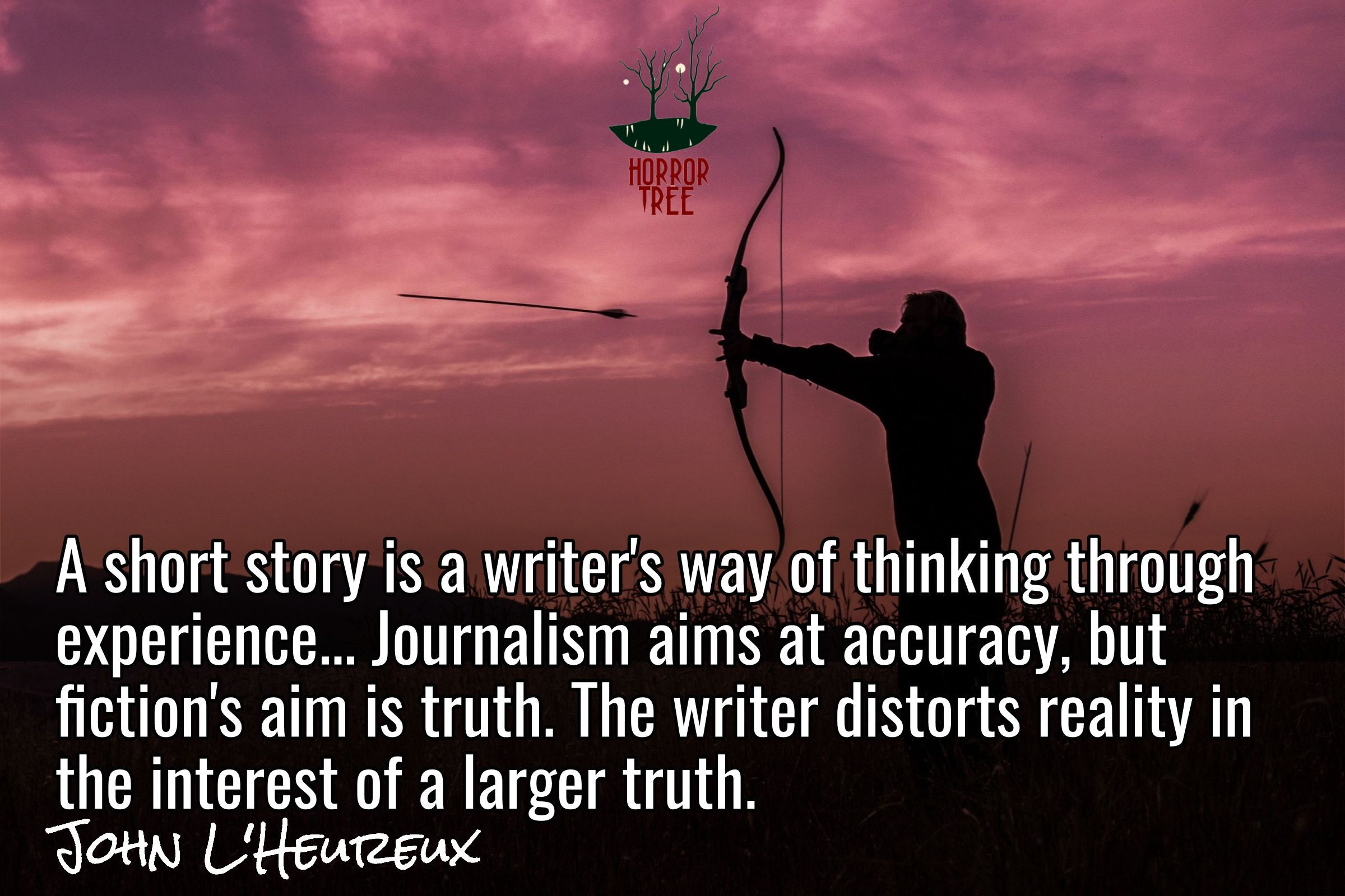 """""""A short #story is a #writer's way of thinking through experience."""