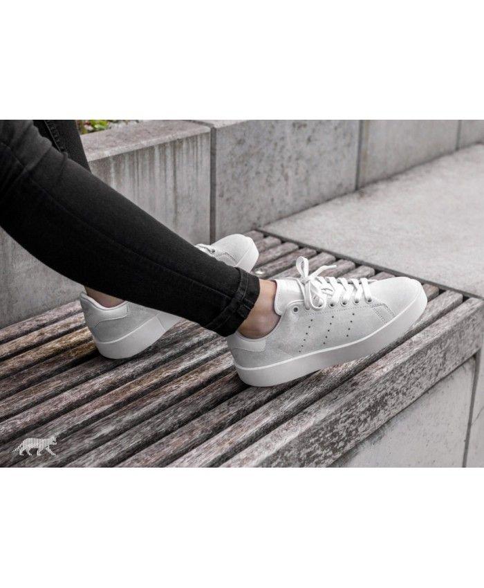 Adidas Sale Stan Smith Bold W Crystal White Off White ...