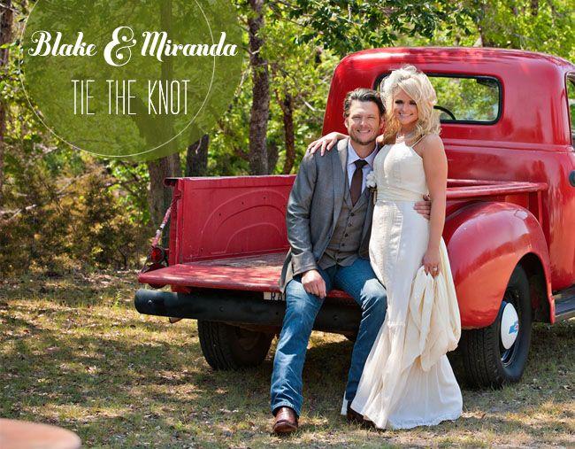 Miranda Lambert Blake Shelton Wedding Blake Shelton And Miranda Blake Shelton Wedding Miranda Lambert Wedding