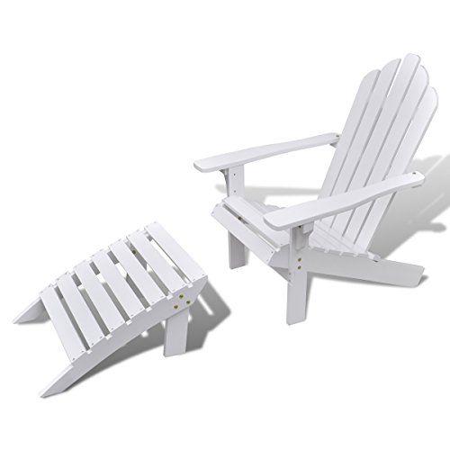 Chaise De Salon Jardin En Bois Chaise Relaxation Avec Repose Pied Vidaxl Http Www Amazon Fr Dp B00lkxx Chaise D Exterieur Chaise De Jardin Fauteuil Exterieur