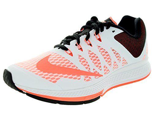 more photos 13a16 5dda9 Nike Womens Air Zoom Elite 7 WhiteBright MangoBlack Running ...