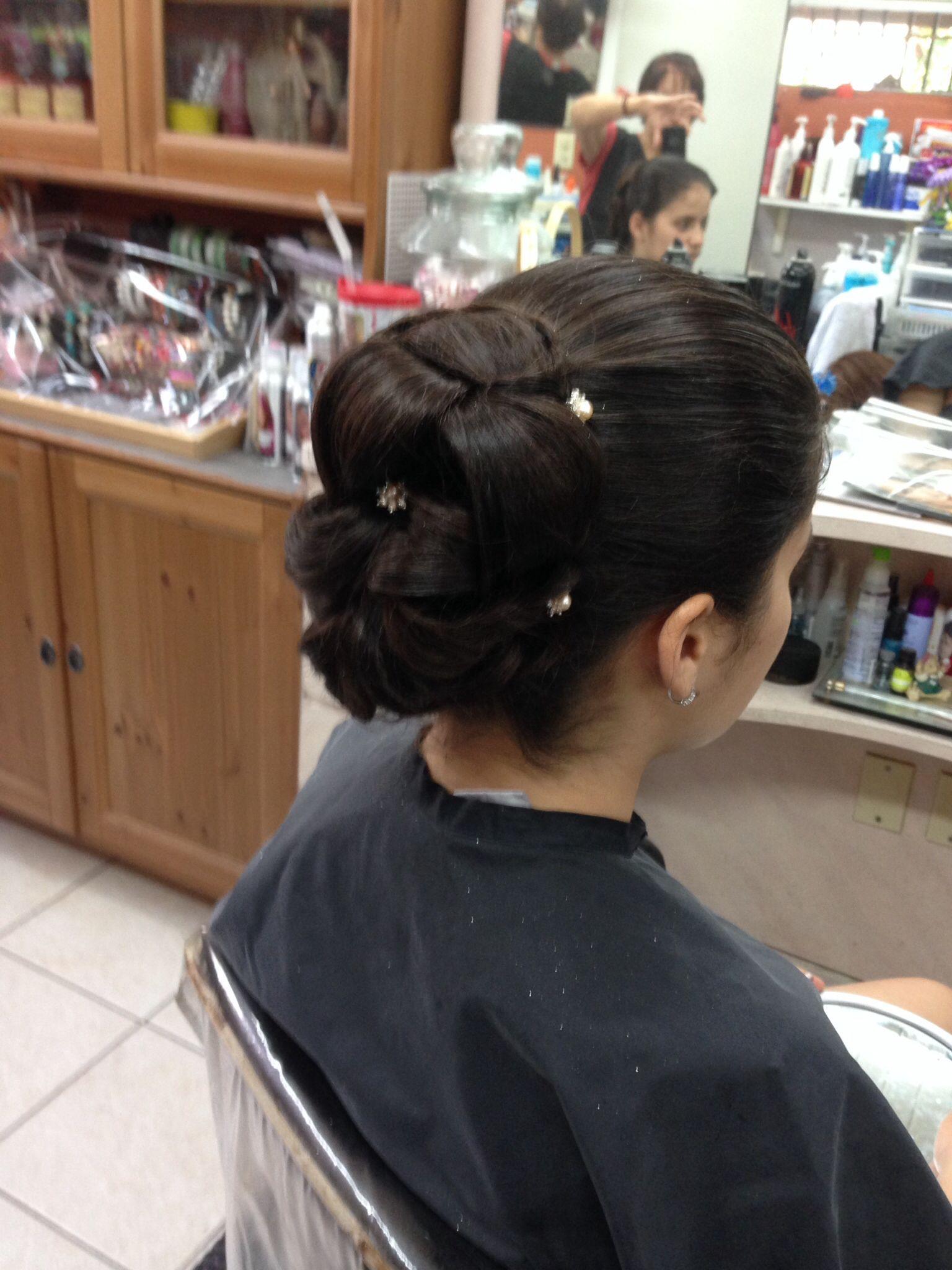 Peinado para el prom