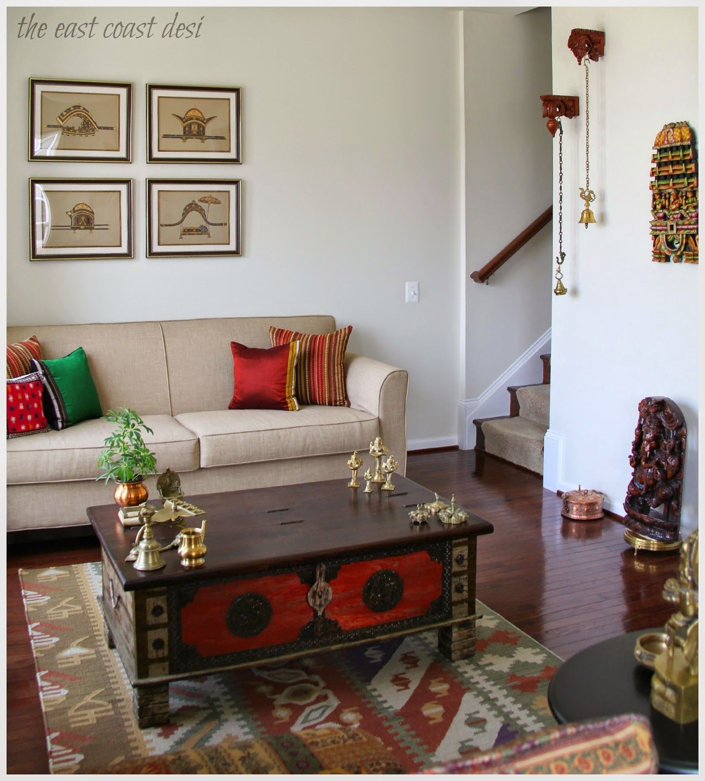 Indian Living Room Ideas The East Coast Desi Home Decor Home Decor Pinterest