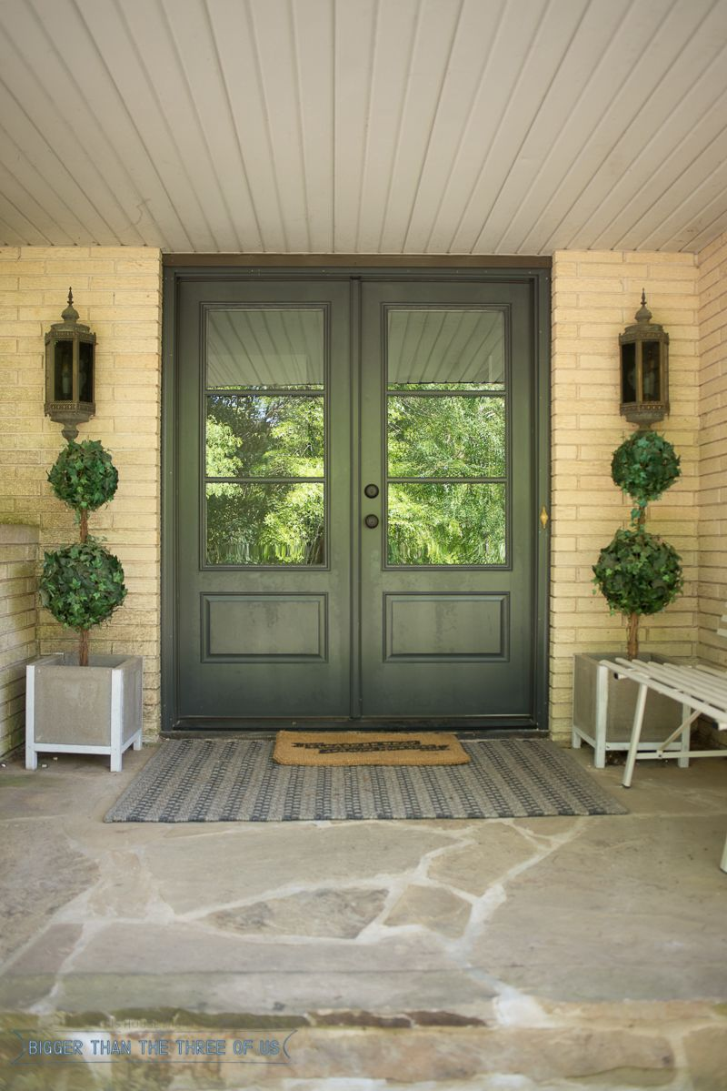 Navy And Black Modern Eclectic Entryway Bigger Than The Three Of Us Exterior Doors With Glass Exterior Doors