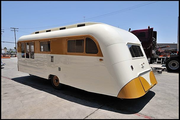 Vintage Trailers 1950 Westcraft Trolley Top Trailer Gorgeous