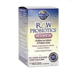 Garden Of Life Raw Probiotics For Women 90 Vcaps Probiotics Best Probiotic Probiotics Supplement