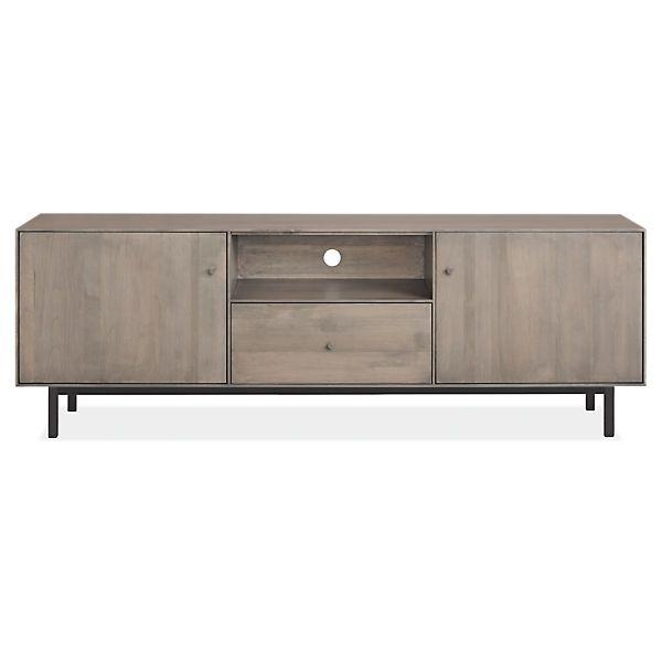 Hudson Media Cabinets With Steel Base | Media Cabinet, Media Storage And  Modern Tv Cabinet