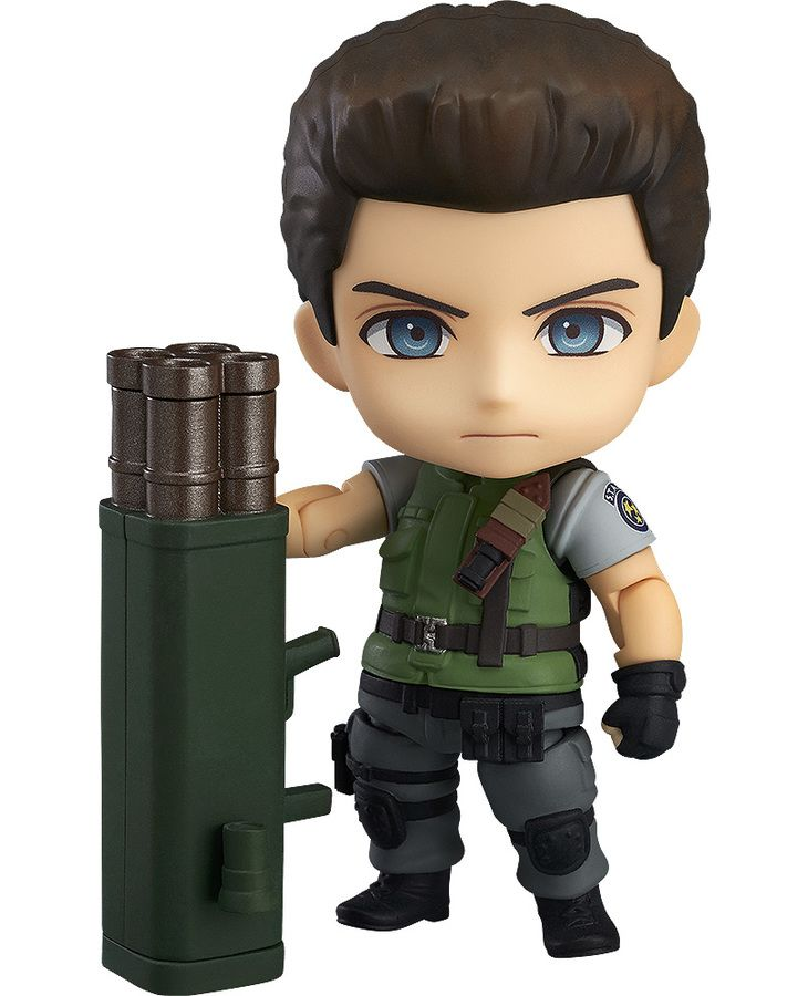 Ready To Punch A Boulder Nendoroid Chris Redfield Resident Evil
