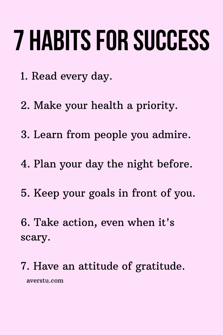 7 great habits to begin #selfcare #selflove #goals #inspiration #health #mentalhealth #wellness #gratitude #motivation afsp.org/newjersey