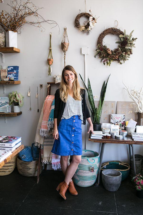 Inside An Eclectic Los Angeles Floral Shop   glitterguide.com