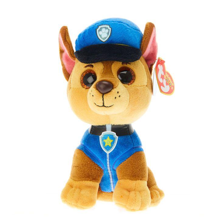 TY Beanie Boos Paw Patrol Small Chase Plush Toy Ty Beanie Boos 315ac98a7515