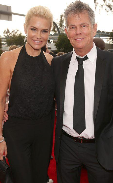 Yolanda David Foster The Prettiest Rhobh Yolanda Foster Style Grammy Awards Red Carpet Fashion
