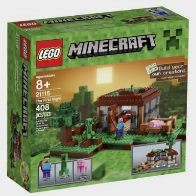 AmazonSmile: LEGO Minecraft 21115 The First Night: http://amzn.to/2bWY8mn