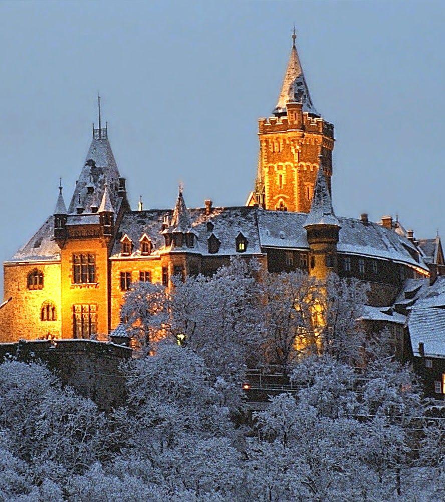 Wernigerode Castle,Saxony Anhalt, Germany. Wernigerode