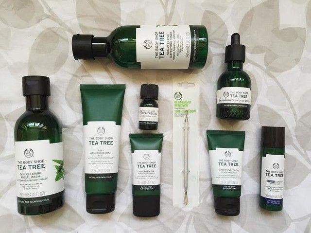 The Tea Tree Collection Tea Tree Oil For Acne Body Shop Tea Tree Body Shop Skincare