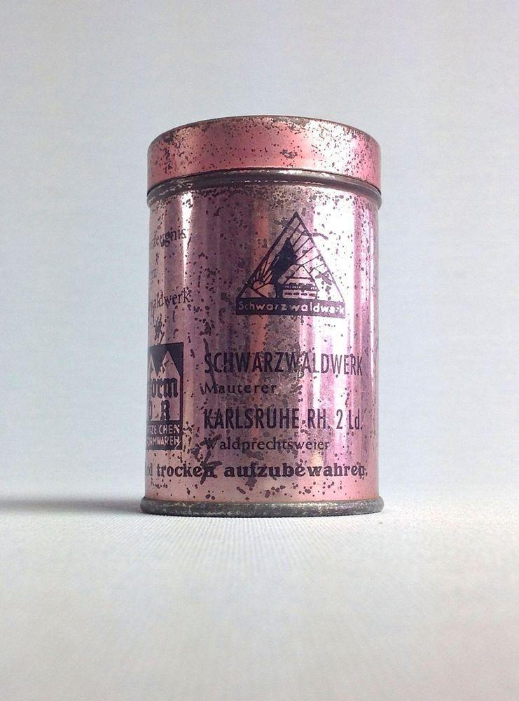 Vorratsdose Metall Tea Tee silber nostalgisch Vintage