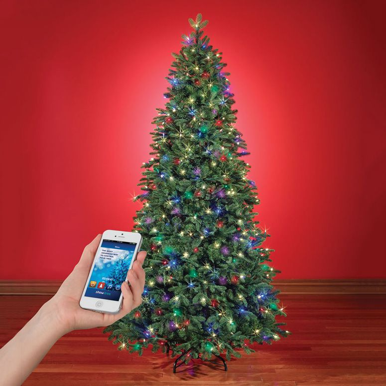 App Controlled Music And Light Show Christmas Tree Pre Lit Christmas Tree Outdoor Christmas Tree Cool Christmas Trees