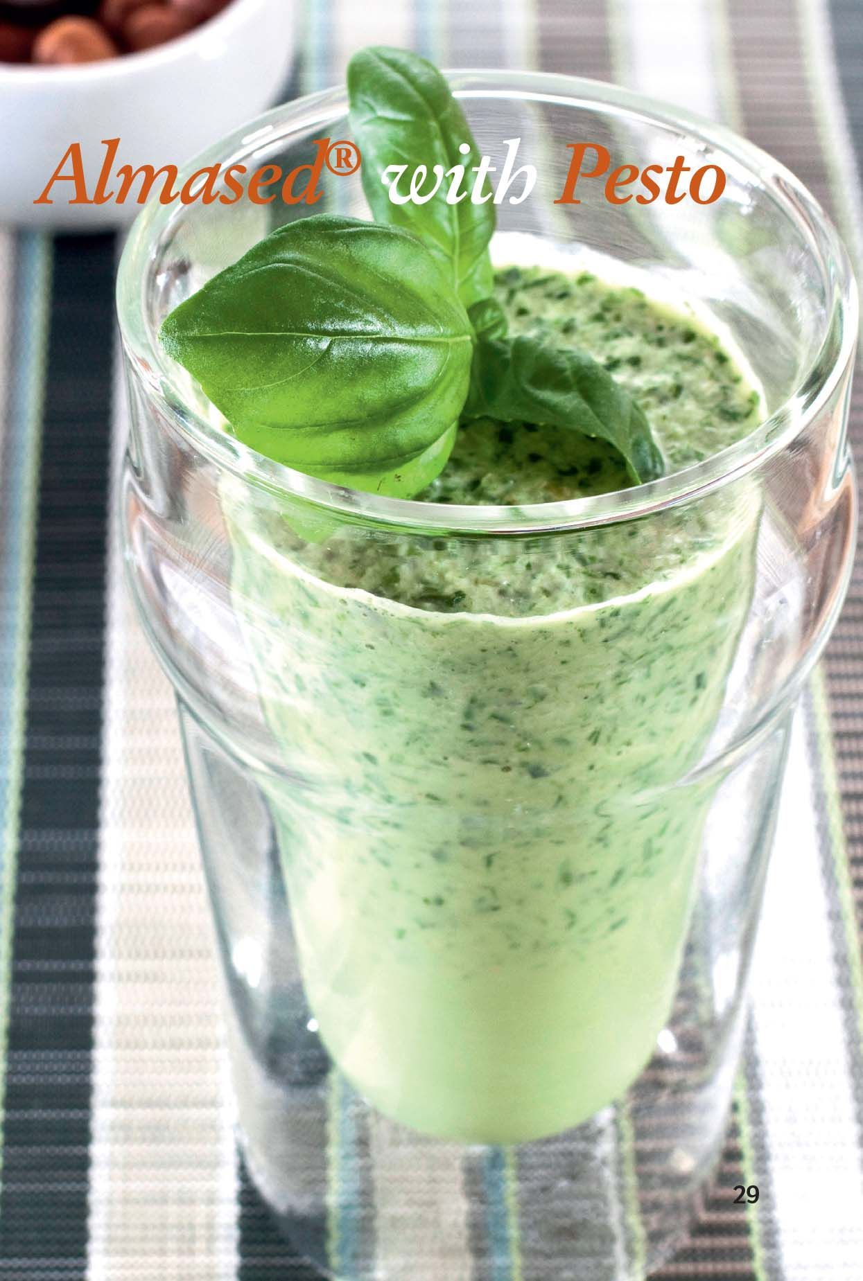 almased with pesto 10 oz low fat milk 10 tbsp almased with pesto 1 2 cup packed fresh. Black Bedroom Furniture Sets. Home Design Ideas