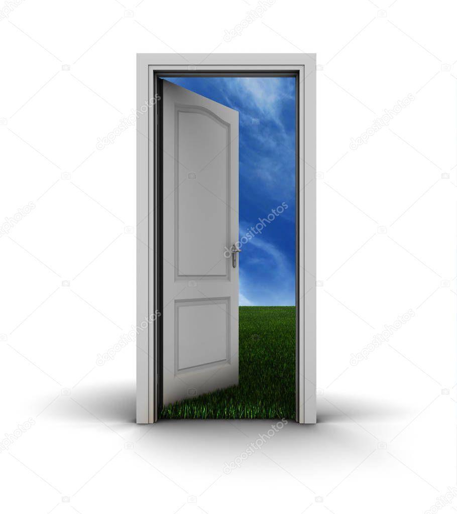 White Open Door Sky Stock Photo Aff Door Open White Photo Ad Sky Photo Stock Photos