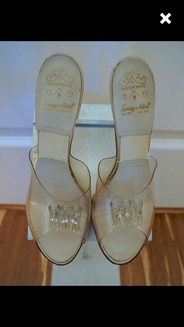 1950s Lucite Heels