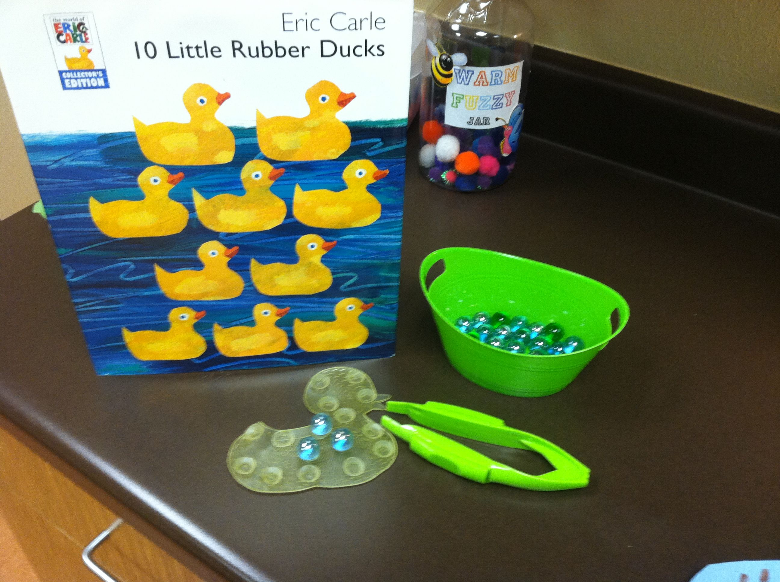 10 Little Rubber Duck Activity Rubber Duck Eric Carle Art Preschool Activities