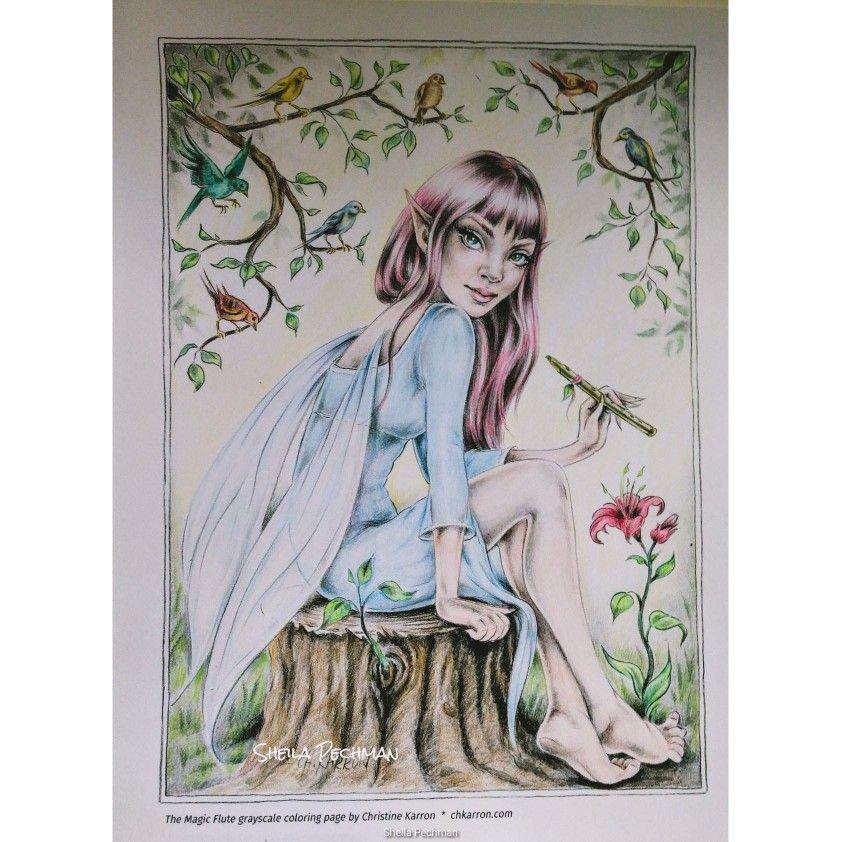 Magic Flute Fairy Christine Karron July 27, 2019 Anime