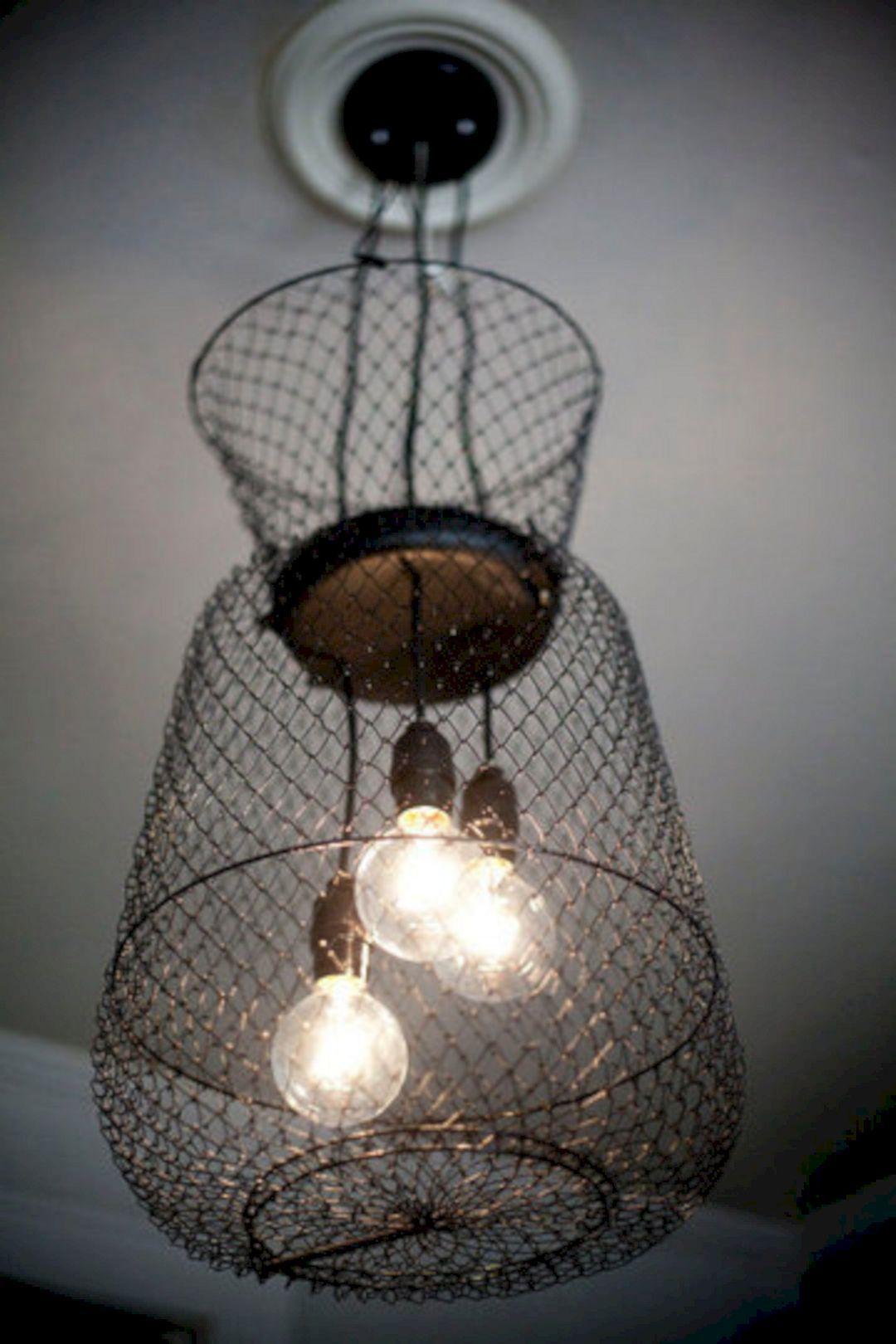 Hanging Basket Light Fixture Hanging Basket Light Fixture Design