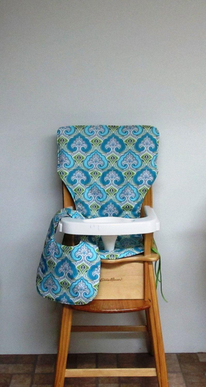 Cotton High Chair Cover, Eddie Bauer Chair Pad, Kids Feeding Chair, Baby  Accessory