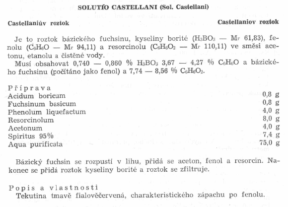 Solutio Castellani