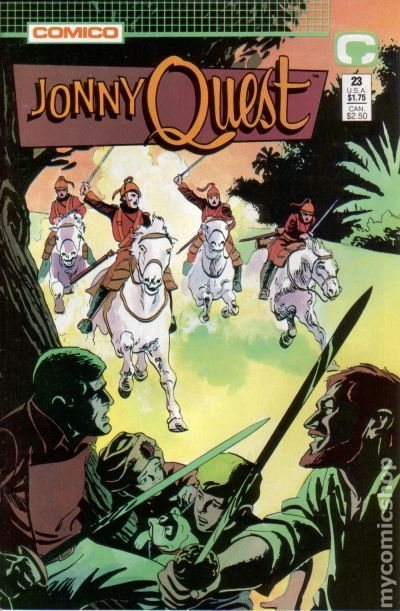 Jonny Quest (1986 Comico) 23