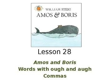 The {4th Grade} Journey: Mentor Text Linky: Amos & Boris with free ...