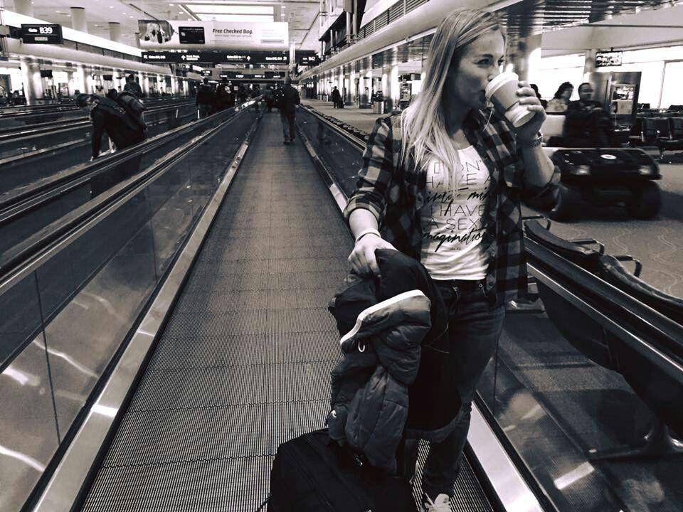 Lara Gut Denver International Airport 29 November 2015